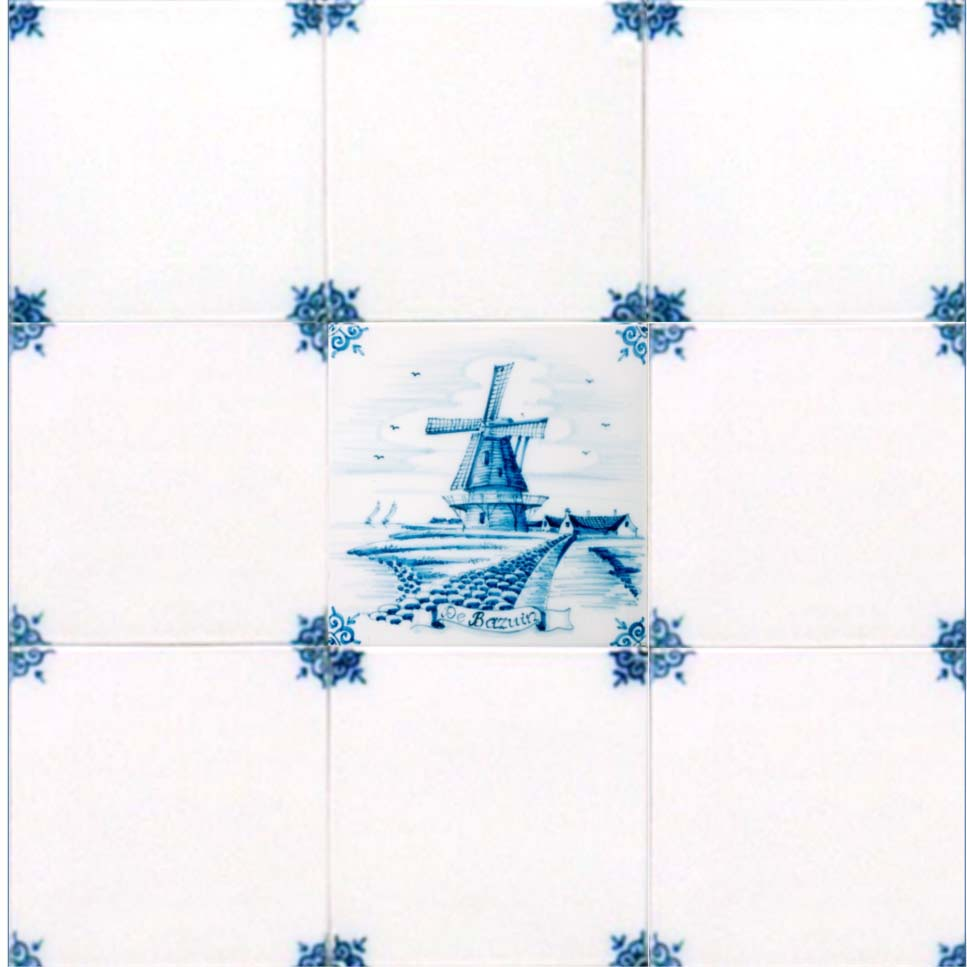 Authentic Delft Tiles Custom Made For Amsterdam Corporation
